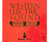 Western Electric Sound ~Sample Three / Numerous artists